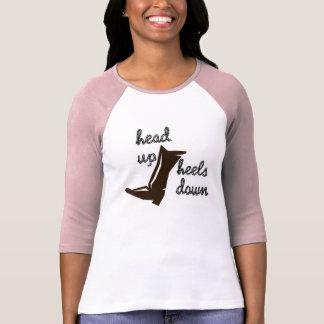Head up Heels Down Tee Shirt