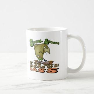 Head Up My Bass Fishing T-shirts and Gifts Coffee Mugs