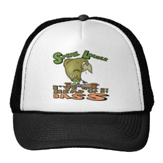 Head Up My Bass Fishing T-shirts and Gifts Trucker Hat