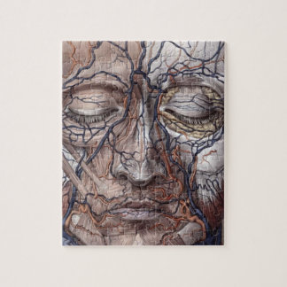 Head Veins and Muscles Jigsaw Puzzle