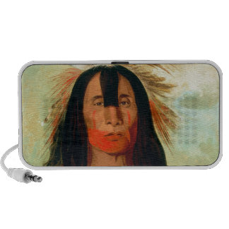 Head war chief of the Blood Indians. Mini Speakers