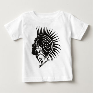 Head with Mohawk Baby T-Shirt