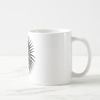 Head with Mohawk Coffee Mug