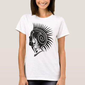 Head with Mohawk T-Shirt