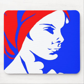 Head Wrap 4 (Paint.net) Mouse Pad