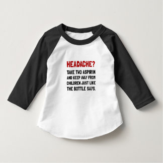 Headache Children Tee Shirt