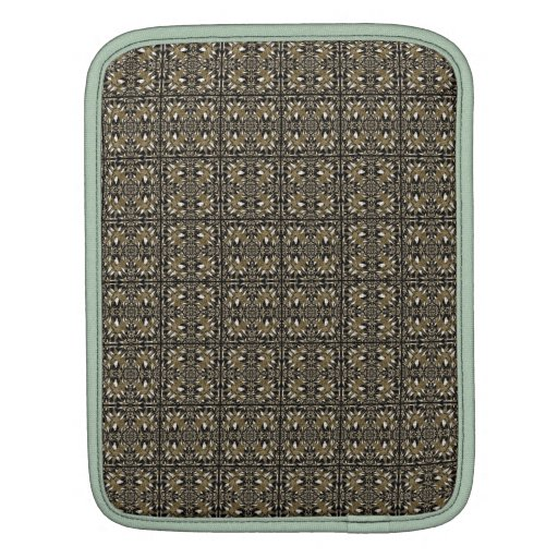 Headache Inducing Grid iPad Sleeves