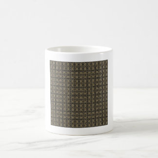 Headache Inducing Grid Coffee Mug
