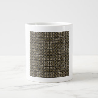 Headache Inducing Grid Extra Large Mugs