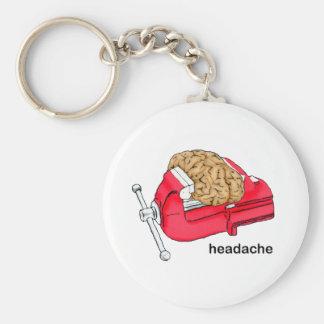 Headache Keychain