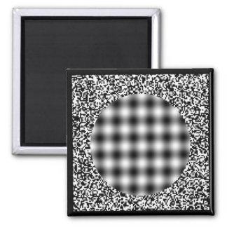HeadacheIllusion 2 Inch Square Magnet