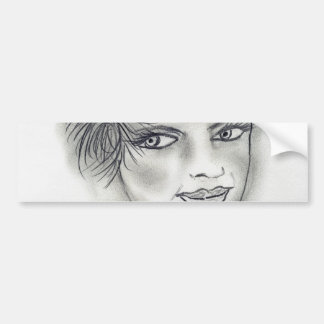 Headband Deco Girl Bumper Sticker