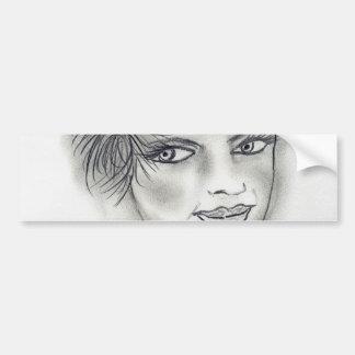 Headband Deco Girl Bumper Stickers