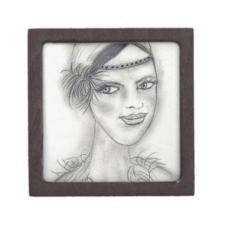 Headband Deco Girl Gift Box