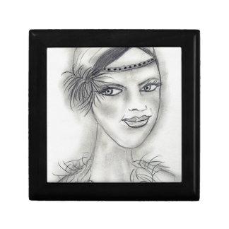 Headband Deco Girl Jewelry Box