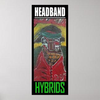 HEADBAND HYBRIDS POSTER