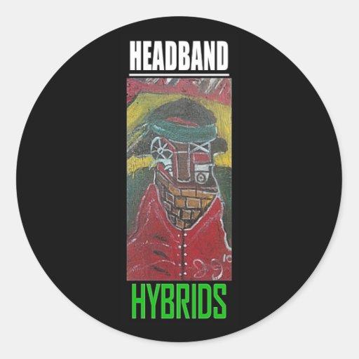 HEADBAND HYBRIDS STICKER