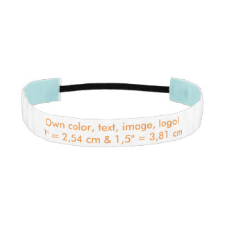Headband Own Color ~ Uni White