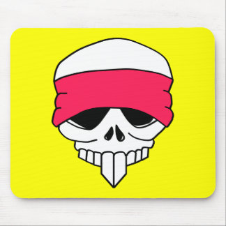 Headbanded Skull Mousepad