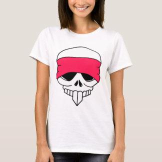 Headbanded Skull Women T-Shirt