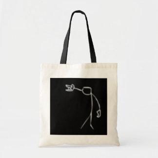 headbang tote bag