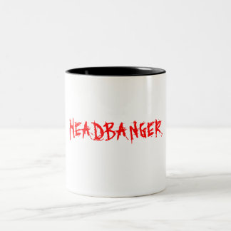 HEADBANGER Two-Tone COFFEE MUG