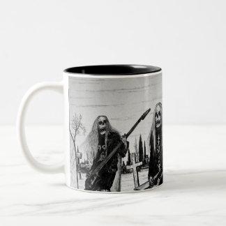 Headbanger Two-Tone Coffee Mug