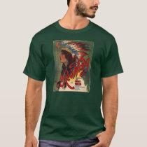 Headdress Vintage Sheet Music Men's T-Shirt