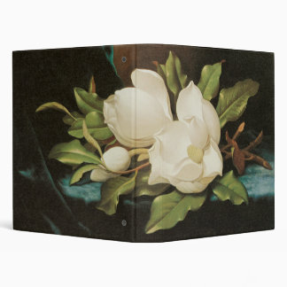 Heade Giant Magnolias 3 Ring Binder