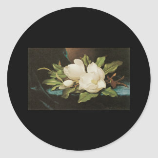 Heade Giant Magnolias Round Sticker