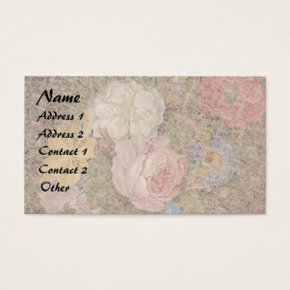 Heade Roses Flowers Floral Business Cards