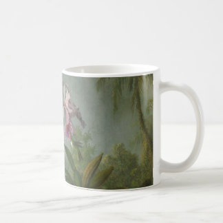 Heade - Two Orchids and a Humming Bird Coffee Mug