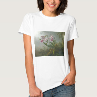 Heade - Two Orchids and a Humming Bird T-Shirt