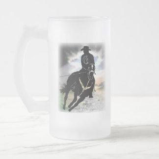Header 101 frosted glass beer mug