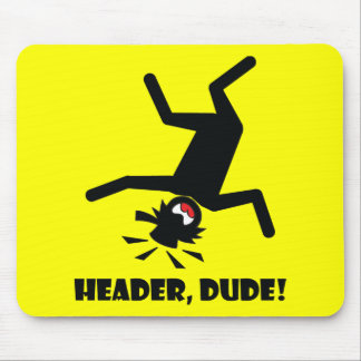 HEADER DUDE 10 MOUSE PAD