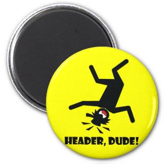HEADER DUDE 10 REFRIGERATOR MAGNETS