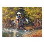 Headin' Upstream Postcard