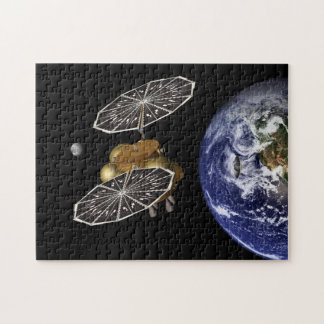 Heading For Mars In Art Puzzle