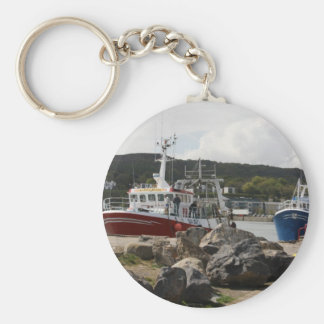 Heading Out to Sea, Howth, Ireland Keychain