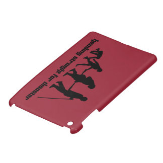 Heading straight for disaster iPad mini case