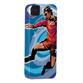 Heading the Ball iPhone 4 Case