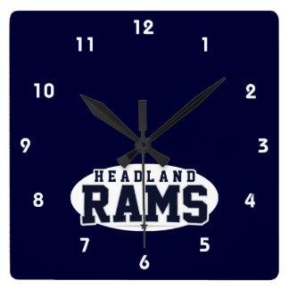 Headland High School; Rams Clocks