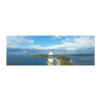 Headland lighthouse canvas print