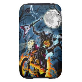 Headless Biker Horseman Tough iPhone 3 Cases
