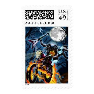 Headless Biker Horseman Stamps
