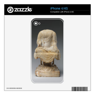 Headless Buddha - Tang dynasty (618–907) Decal For The iPhone 4S