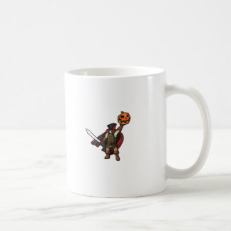 headless horesman coffee mug
