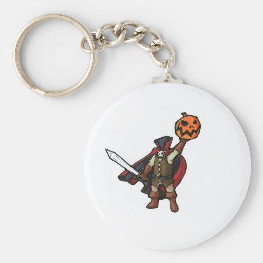 headless horesman key chains