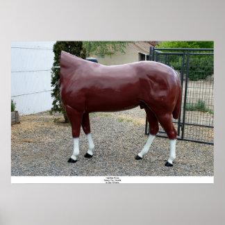 Headless Horse, Carson City, Nevada Posters