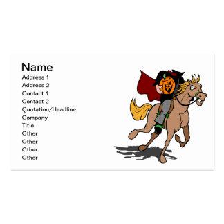 Headless Horseman Business Cards